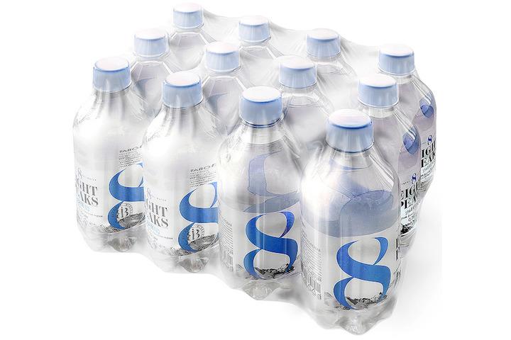 Вода Eight Peaks газированная минеральная природная столовая питьевая, ПЭТ 0.39 литра