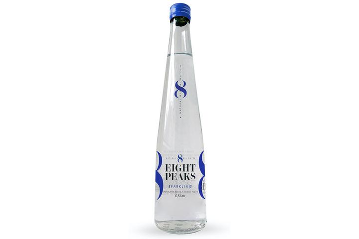 Минеральная вода Eight Peaks (8 Вершин) газ., стекло 0.5 литра