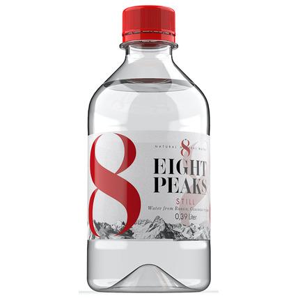 Минеральная вода Eight Peaks (8 Вершин), ПЭТ 0.39 литра