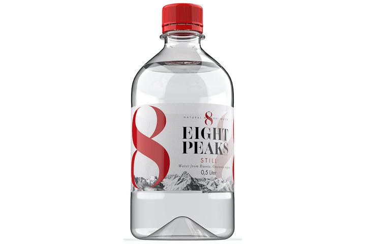 Минеральная вода Eight Peaks (8 Вершин), ПЭТ 0.5 литра
