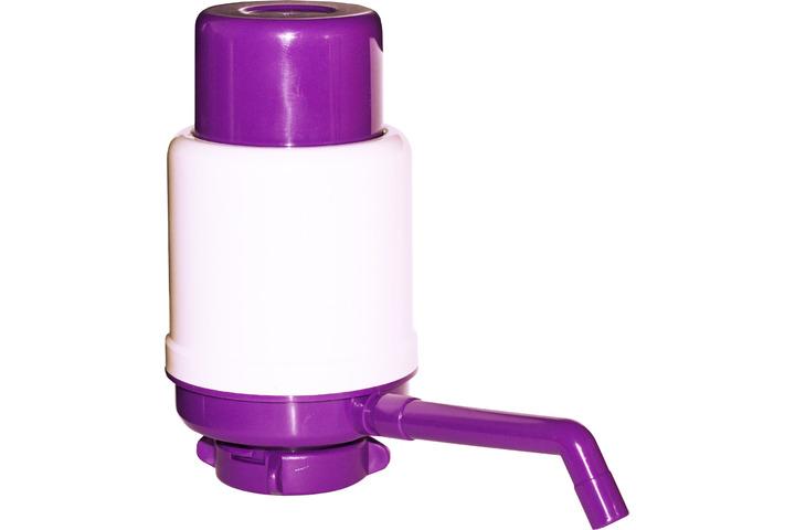 Помпа для воды механическая Aqua Work фиолетовая (в пакете)