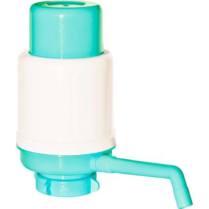 Помпа механическая Долфин Эко (Aqua Work) бирюзовая (в пакете) - купить и заказать с доставкой