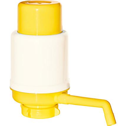 Помпа механическая Долфин Эко (Aqua Work) желтая (в пакете) - купить и заказать с доставкой