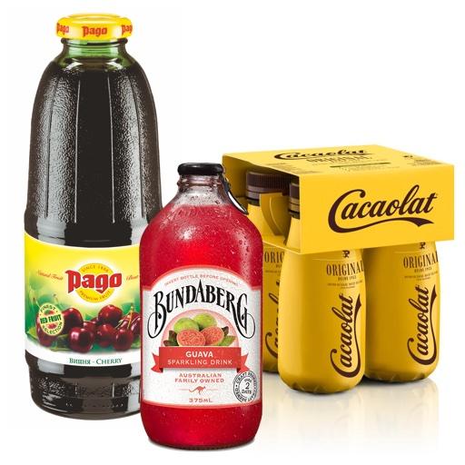Соки, напитки и лимонады