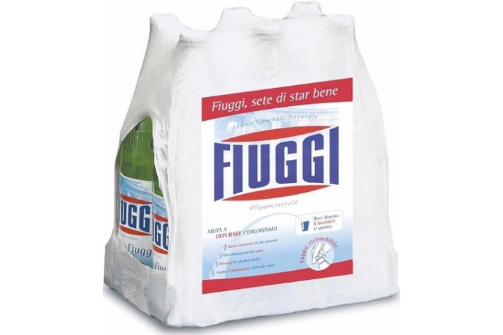 Вода Фьюджи (FIUGGI) Naturale без газа 1 литр