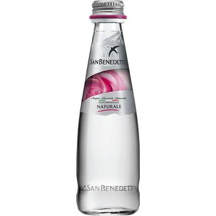 Вода Сан Бенедетто (San Benedetto) без газа стекло 0.25 литра