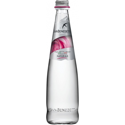 Вода Сан Бенедетто (San Benedetto) без газа стекло 0.5 литра