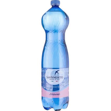 Вода Сан Бенедетто (San Benedetto) без газа 1.5 литра пластик - купить и заказать с доставкой