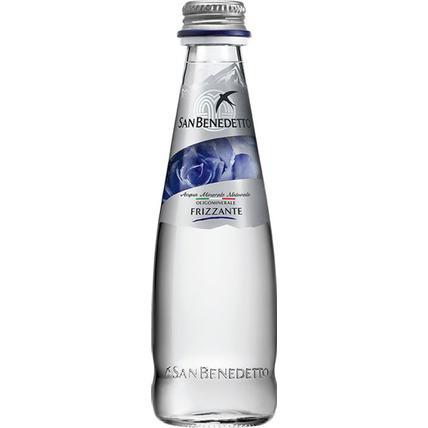 Вода Сан Бенедетто (San Benedetto) газ. стекло 0.25 литра - купить и заказать с доставкой