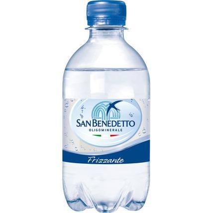 Вода Сан Бенедетто (San Benedetto) газ. 0.33 литра пластик - купить и заказать с доставкой