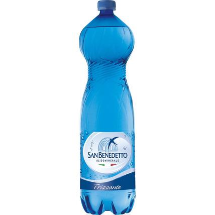 Вода Сан Бенедетто (San Benedetto) газ. 1.5 литра пластик - купить и заказать с доставкой