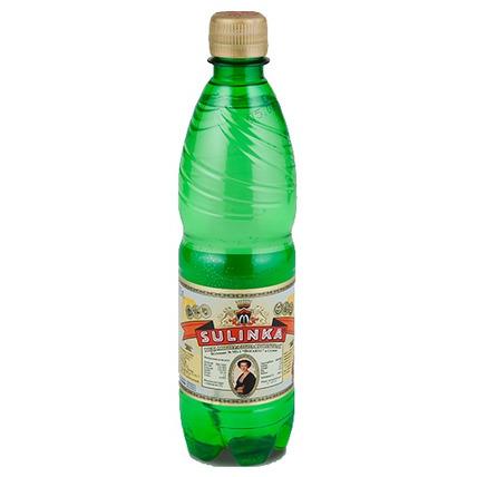 Вода Sulinka газированная минеральная лечебно-столовая природная, ПЭТ 0.5 литра