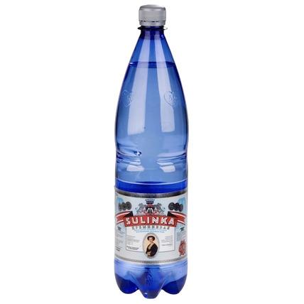 Вода Sulinka Si минеральная лечебно-столовая природная, ПЭТ 1.25 литра