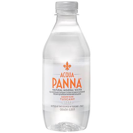 Вода «Acqua Panna» минеральная негазированная, ПЭТ 0.33 литра