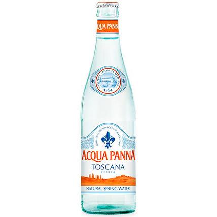 Вода «Acqua Panna» минеральная негазированная, стекло 0.5 литра