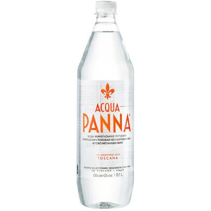 Вода Аква Панна (Acqua Panna) без газа 1 литр пластик - купить и заказать с доставкой