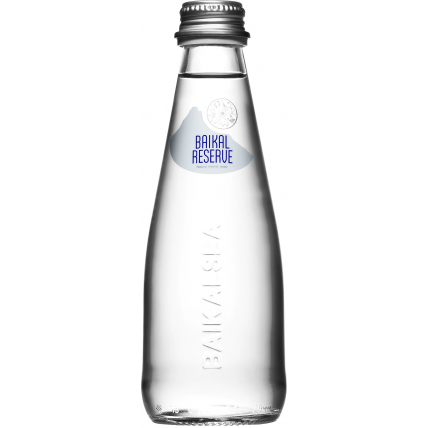 Минеральная лечебно-столовая вода Байкал Резерв (BAIKAL RESERVE), стекло 0.25 литра - купить и заказать с доставкой