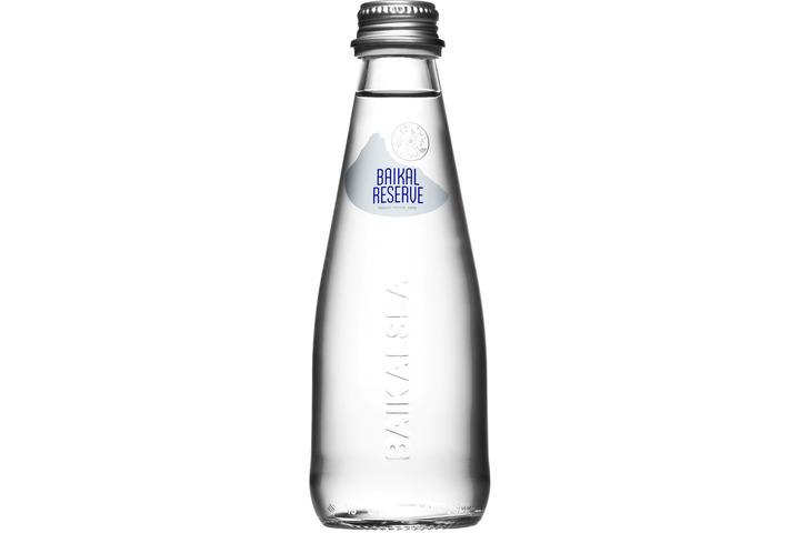 Минеральная лечебно-столовая вода Байкал Резерв (BAIKAL RESERVE), стекло 0.25 литра