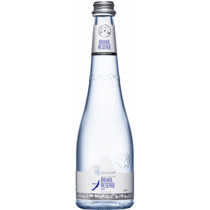 Минеральная лечебно-столовая вода Байкал Резерв (BAIKAL RESERVE), стекло 0.53 литра - купить и заказать с доставкой