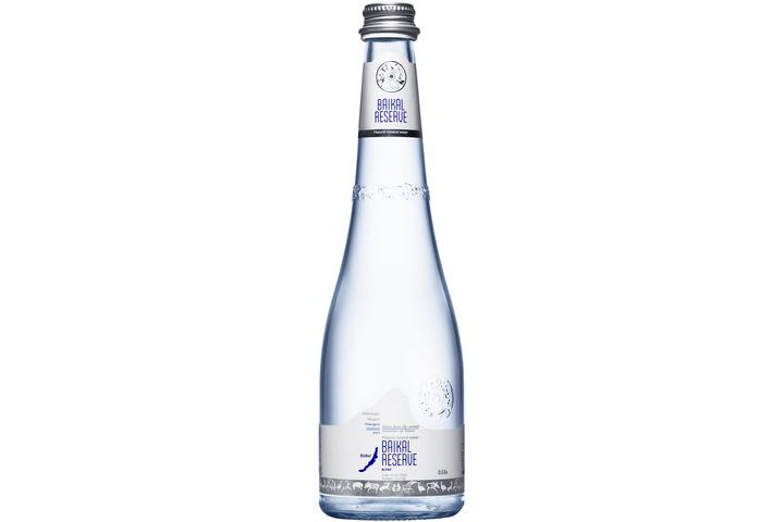 Минеральная лечебно-столовая вода Байкал Резерв (BAIKAL RESERVE), стекло 0.53 литра