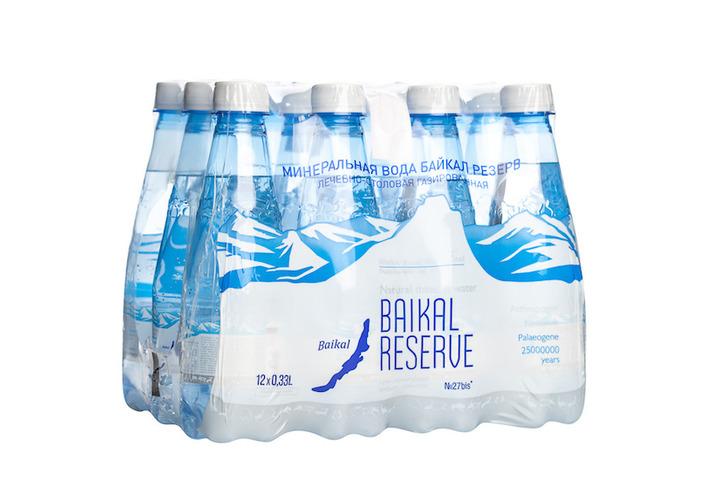 Минеральная лечебно-столовая вода Байкал Резерв (BAIKAL RESERVE), ПЭТ 0.33 литра