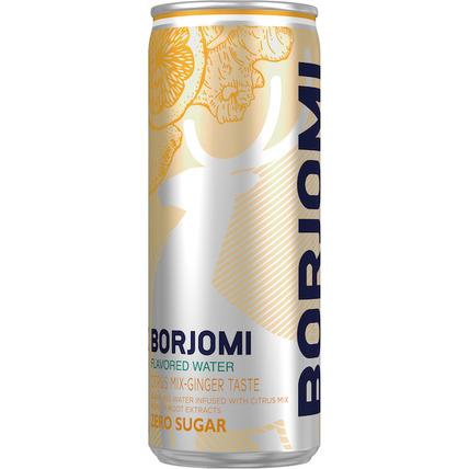 Напиток Borjomi Flavored на основе минеральной природной воды с экстрактами цитр...