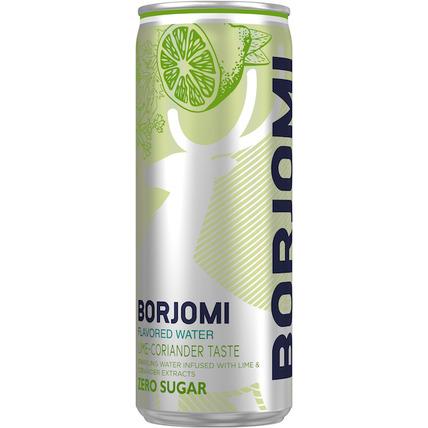 Напиток Borjomi Flavored на основе минеральной природной воды с экстрактами лайм...