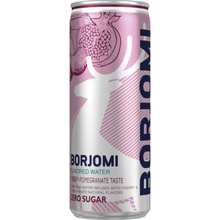Напиток Borjomi Flavored на основе минеральной природной воды с ароматами вишни ...