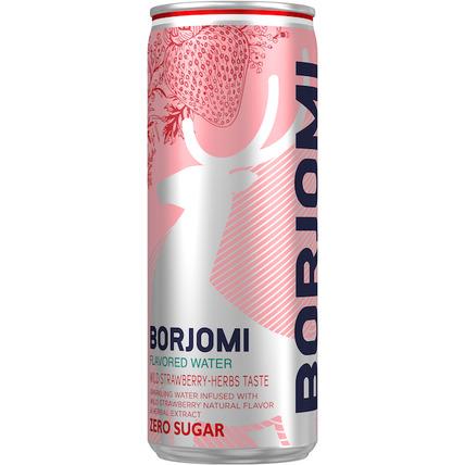 Напиток Borjomi Flavored на основе минеральной природной воды с ароматом дикой з...