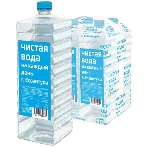 Вода ЧИСТАЯ ВОДА НА КАЖДЫЙ ДЕНЬ природная питьевая...