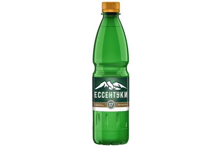 Лечебная вода Ессентуки №17, ПЭТ 0.5 литра