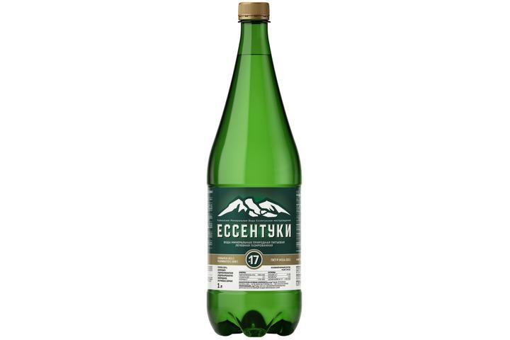 Лечебная вода Ессентуки №17, ПЭТ 1 литр