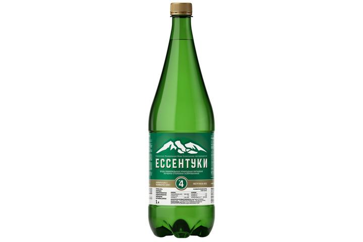 Лечебно-столовая вода Ессентуки №4, ПЭТ 1 литр