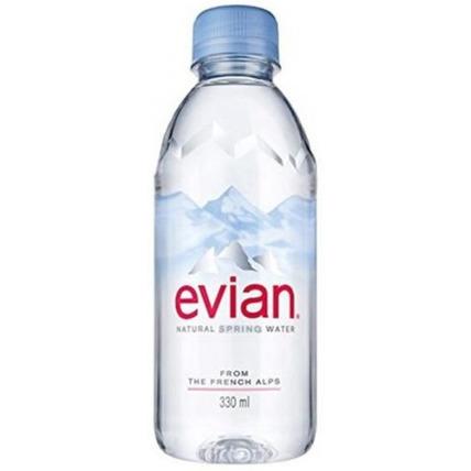 Вода Эвиан (Evian) без газа 0.33 литра (24 шт.)