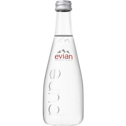 Вода Эвиан (Evian) негазированная стекло 0.33 литра