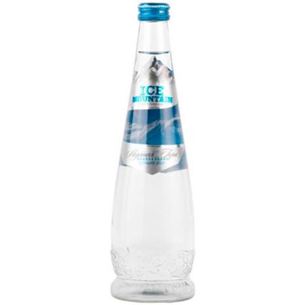 Вода Ледяная гора (ICE MOUNTAIN) газ. стекло 0.5 литра - купить и заказать с доставкой
