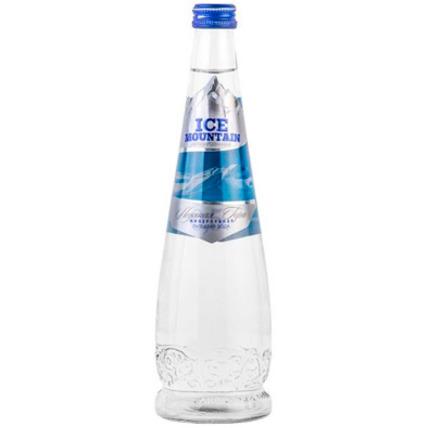 Вода Ледяная гора (ICE MOUNTAIN) без газа стекло 0.5 литра - купить и заказать с доставкой