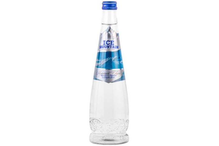 Вода Ледяная гора (ICE MOUNTAIN) без газа стекло 0.5 литра