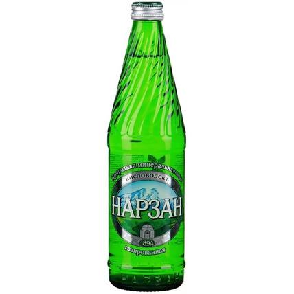 Вода Нарзан газ. стекло 0.5 литра