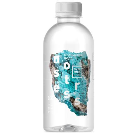 Вода магниевая NO STRESS, ПЭТ 0.35 литра - купить и заказать с доставкой