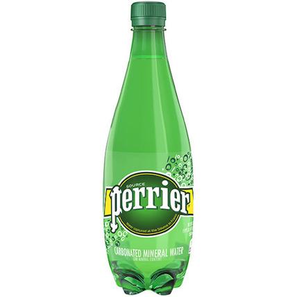 Вода Perrier минеральная газированная, ПЭТ 0.5 литра