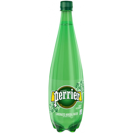 Вода Perrier минеральная газированная, ПЭТ 1 литр