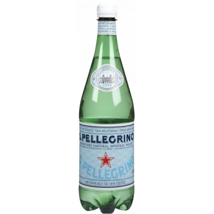 Вода Сан Пеллегрино (San Pellegrino) газ. 1 литр
