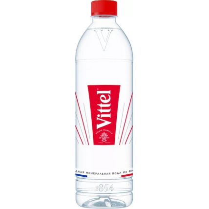 Вода Vittel минеральная, негазированная, ПЭТ 0.7 литра