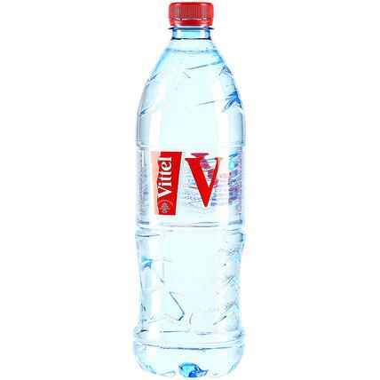 Минеральная вода Vittel, ПЭТ 1 литр