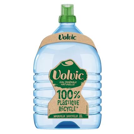 Бутилированная минеральная вода «Volvic», ПЭТ 8 л (с краником)