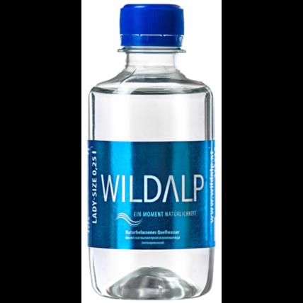 Альпийская вода Wildalp без газа 0.25 литра - купить и заказать с доставкой