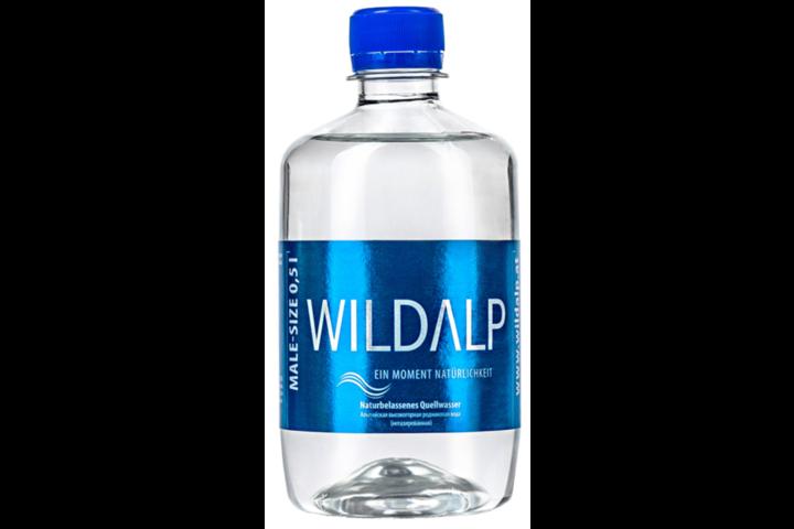 Альпийская вода Wildalp без газа 0.5 литра