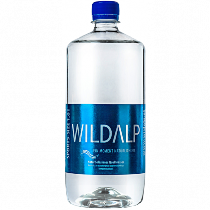 Альпийская вода Wildalp без газа 1 литр - купить и заказать с доставкой