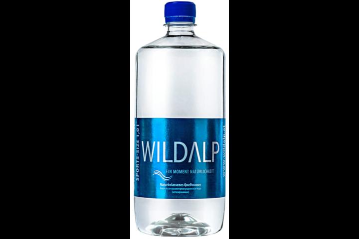 Альпийская вода Wildalp без газа 1 литр